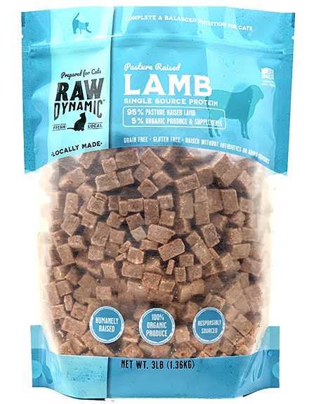Raw Dynamic Lamb - Cat Formula