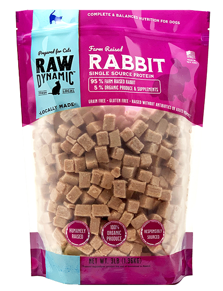 Raw Dynamic Rabbit - Cat Formula