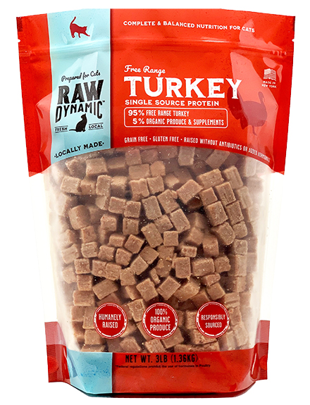 Raw Dynamic Turkey - Cat Formula